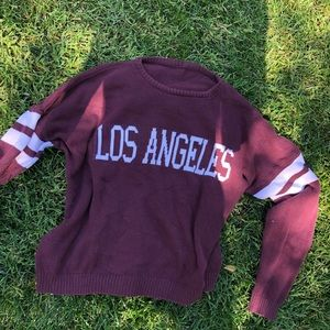 Brandy Melville Sweaters - los angeles sweater - brandy melville